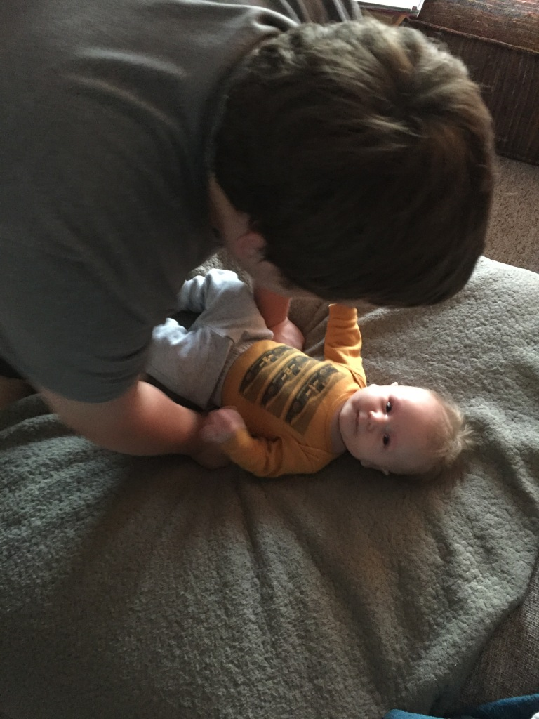 Play time with daddy