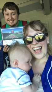 We were very excited about Leigh's first game certificate.