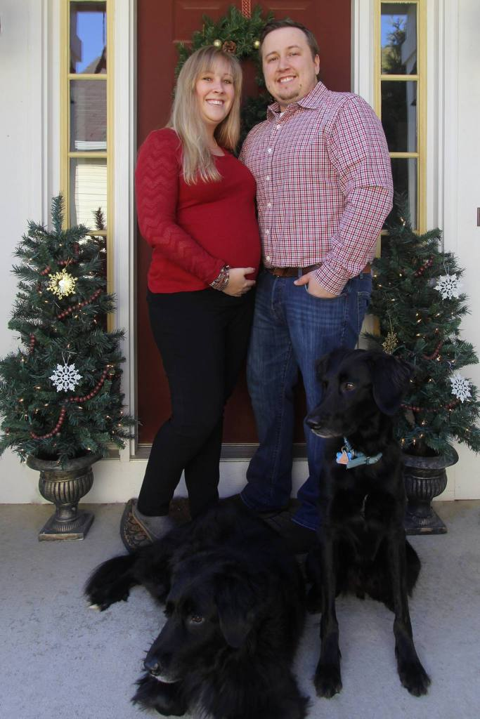 Christmas 2015 - We're expecting!